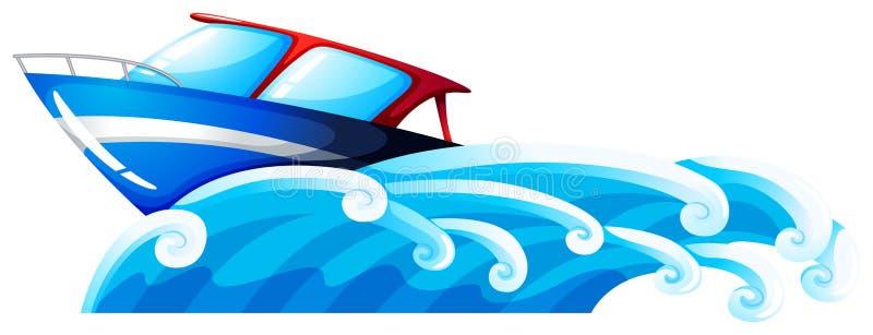 Ett skepp på stranden royaltyfri illustrationer