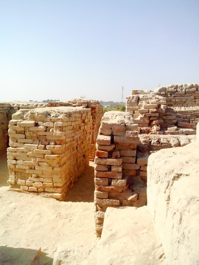 Ett ställe av den Mohenjo daroen royaltyfria bilder