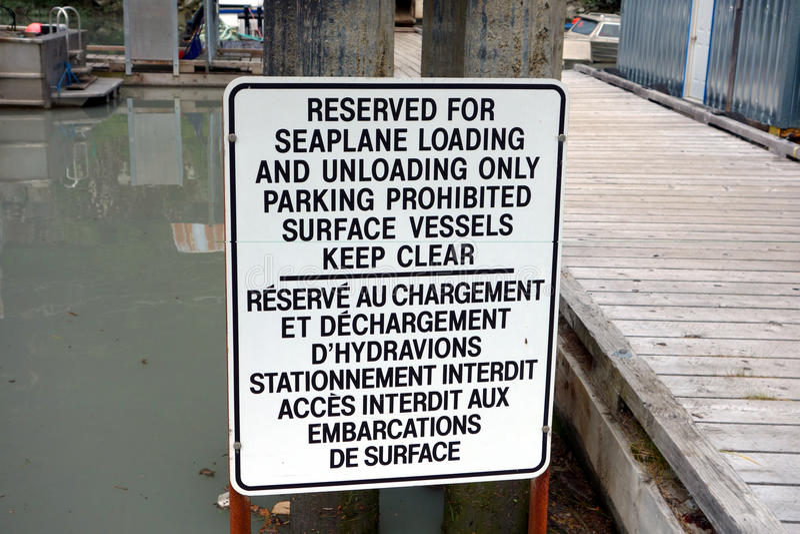Ett tecken på den stewart yachtklubban arkivfoton