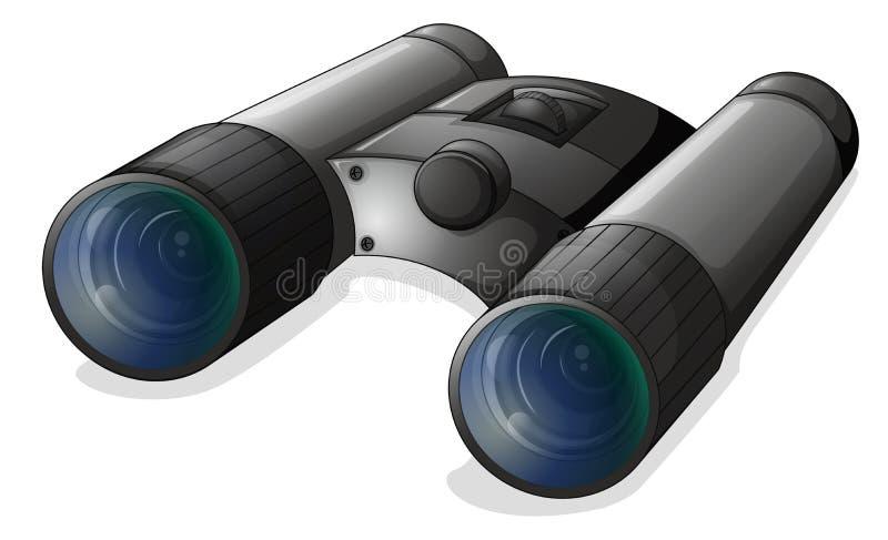 Ett teleskop vektor illustrationer