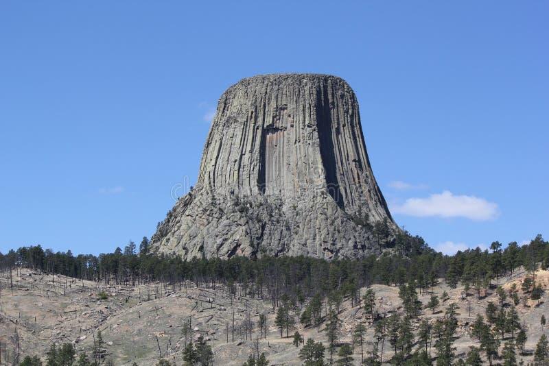 Ett torn som jäkeln behöver royaltyfria bilder