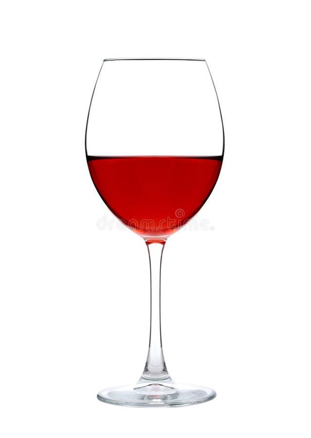 Ett vin i exponeringsglas fotografering för bildbyråer