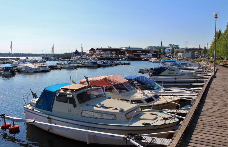 Ettans marina stock photo