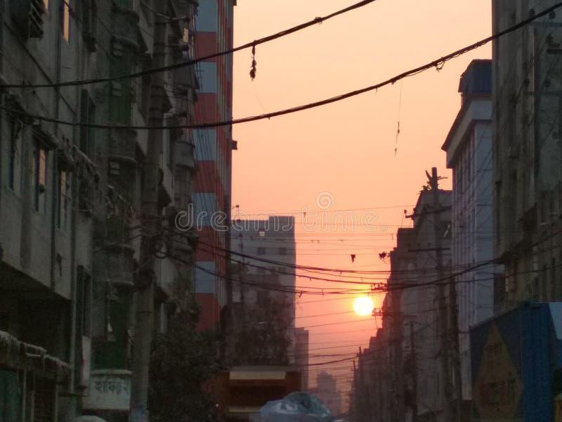 etwas Sonne sgng stockfoto