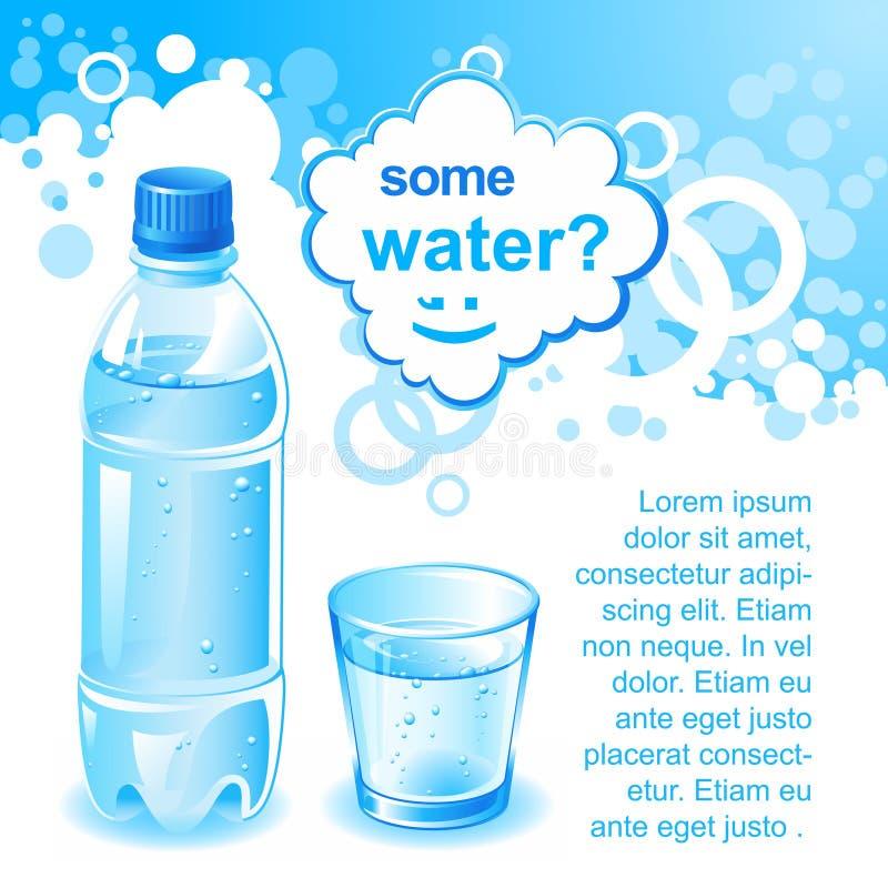 Etwas Wasser? stock abbildung