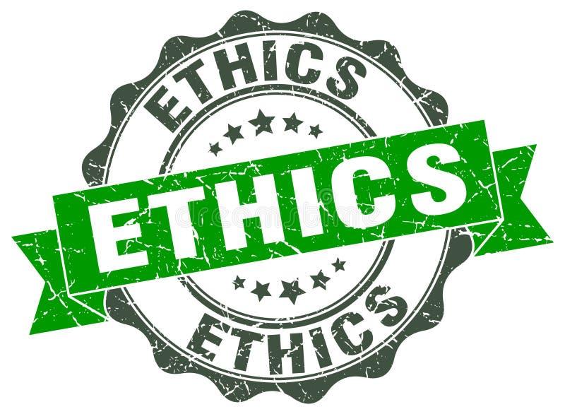 etyki foka znaczek royalty ilustracja