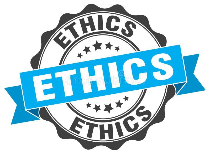 etyki foka znaczek ilustracja wektor