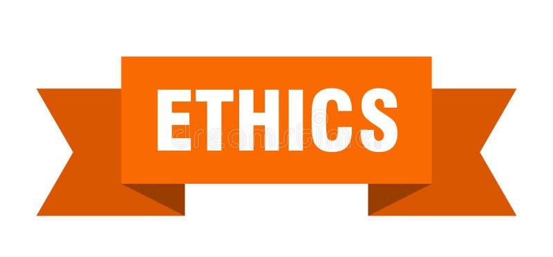 etyki tasiemkowe ilustracja wektor