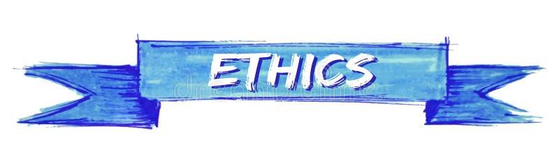 etyki tasiemkowe royalty ilustracja