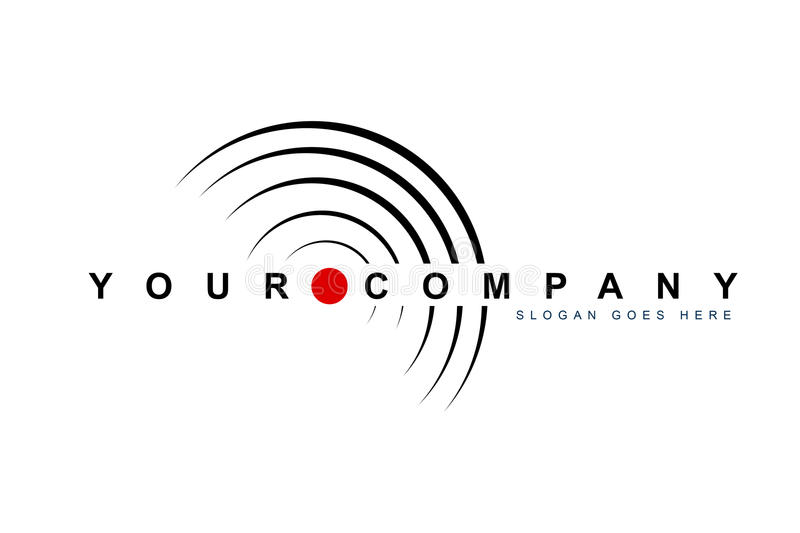 Etykietka dokumentacyjny Logo ilustracji