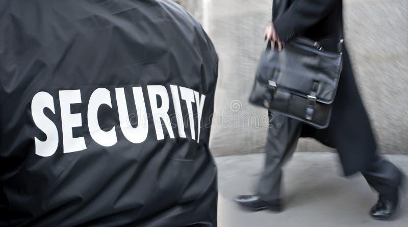 Etykietka na strażnika mundurze zdjęcia royalty free