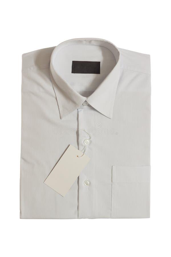 Etykietka new mężczyzna koszulowi obraz royalty free