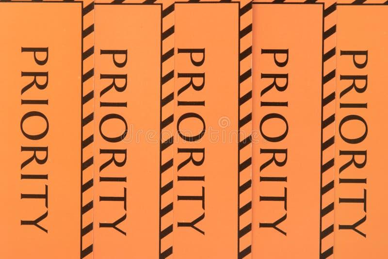 Etykietka priorytet obrazy royalty free