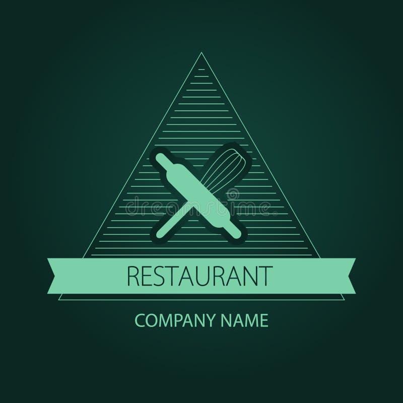 Etykietki, loga lub menu projekt dla, ilustracja wektor