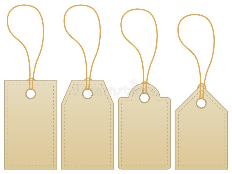 etykietki setu etykietka ilustracji