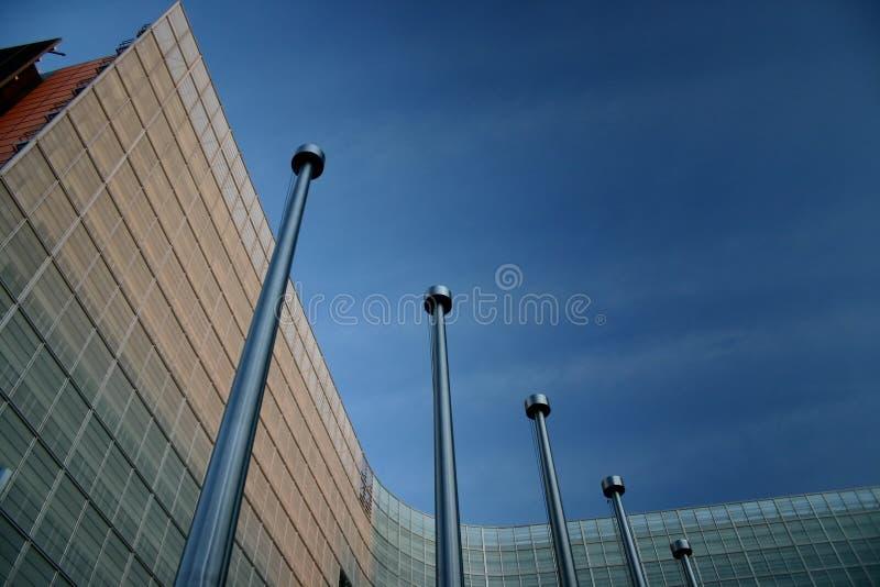 eu здания стоковое изображение