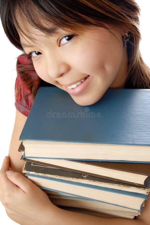 Eu amo ler fotografia de stock