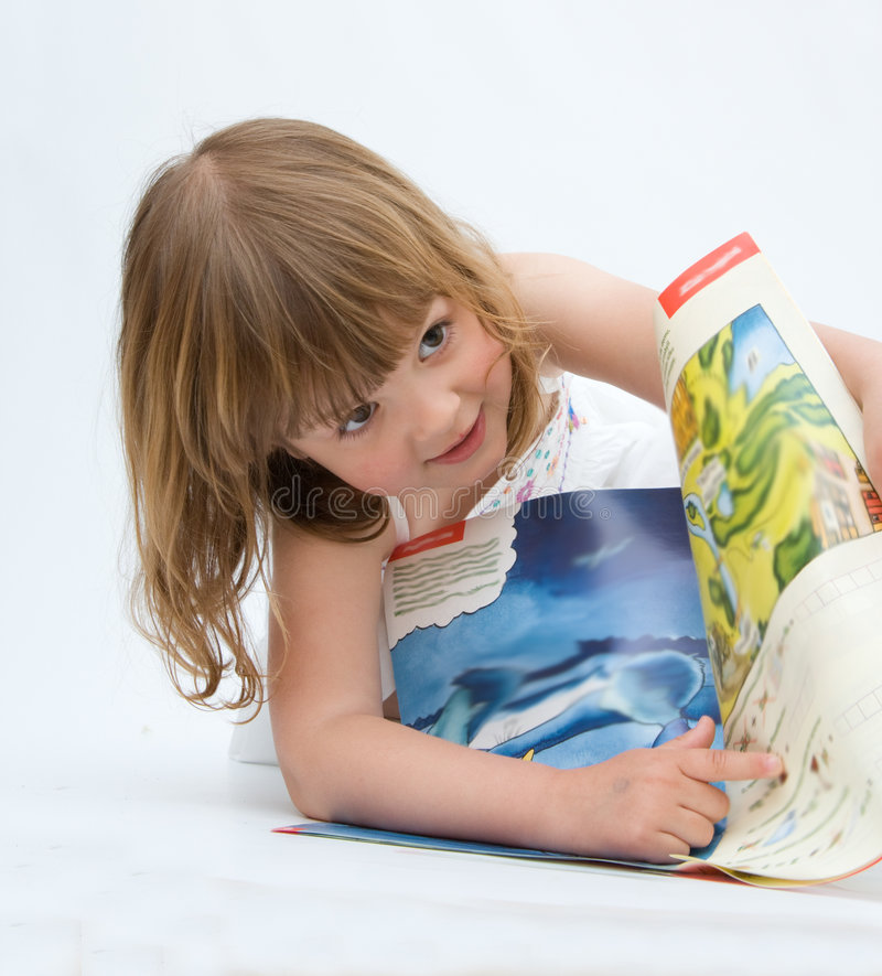 Eu amo livros fotografia de stock