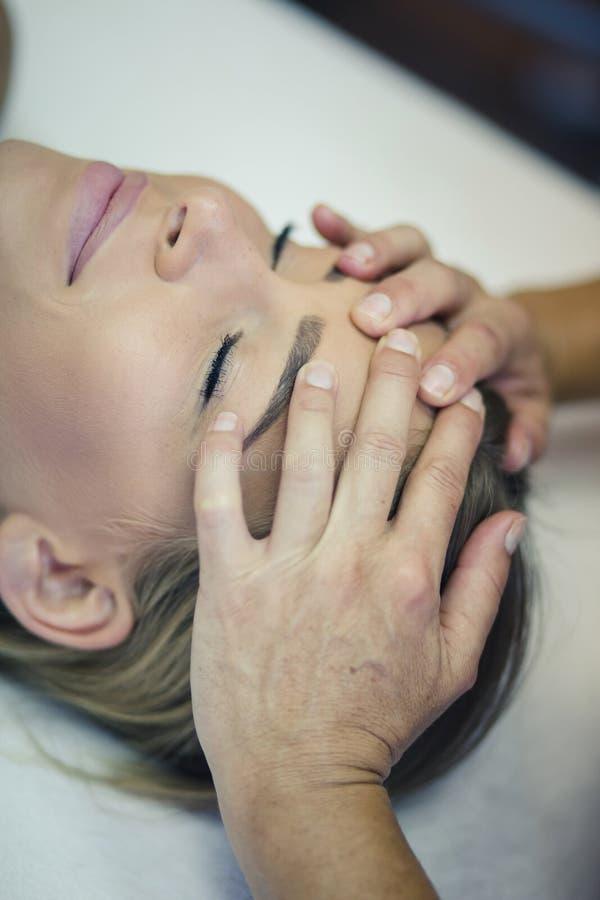 Eu amo minha hora para a massagem fotos de stock