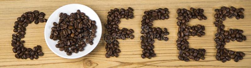Eu amo o café! fotografia de stock royalty free