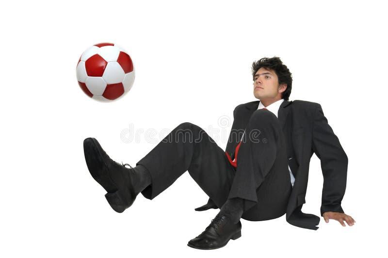 Eu amo o futebol imagens de stock