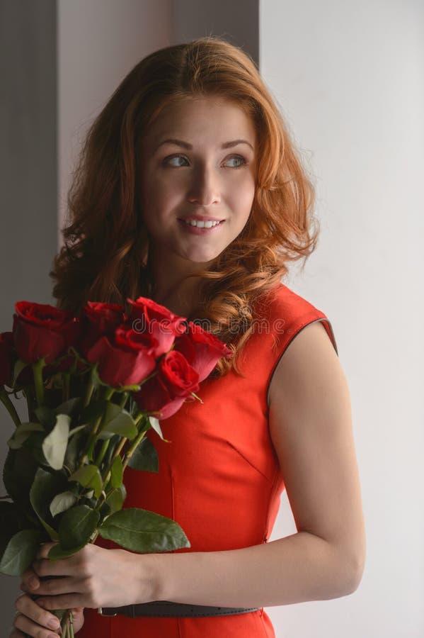 Eu amo rosas imagem de stock