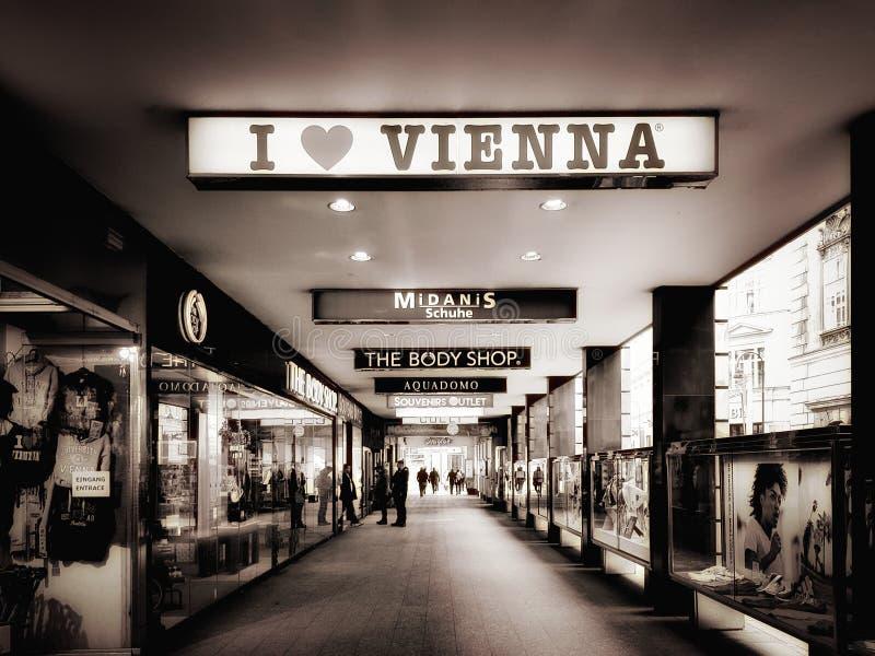 Eu amo Viena imagem de stock royalty free