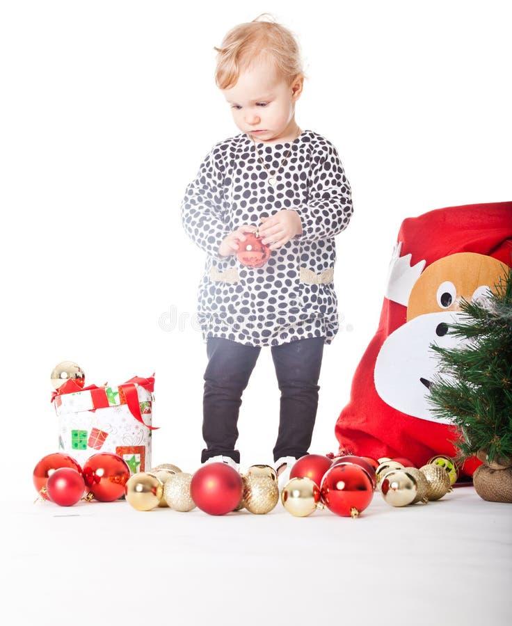 Eu estou começ pronto para o Natal imagem de stock royalty free