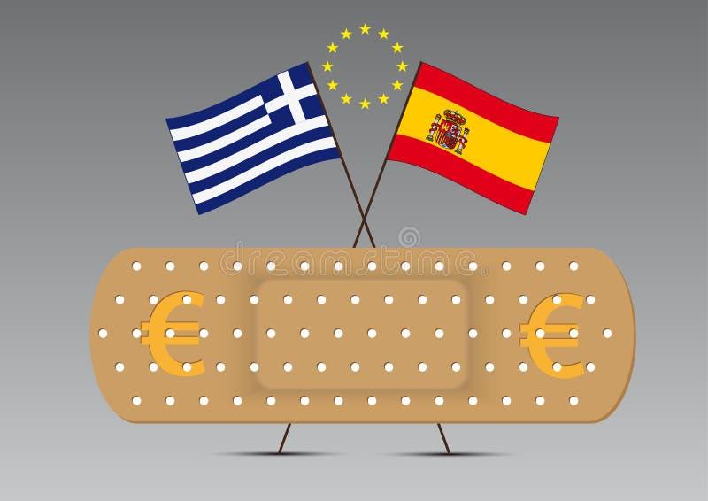 Download EU euro sticking plaster stock vector. Illustration of vector - 26141377