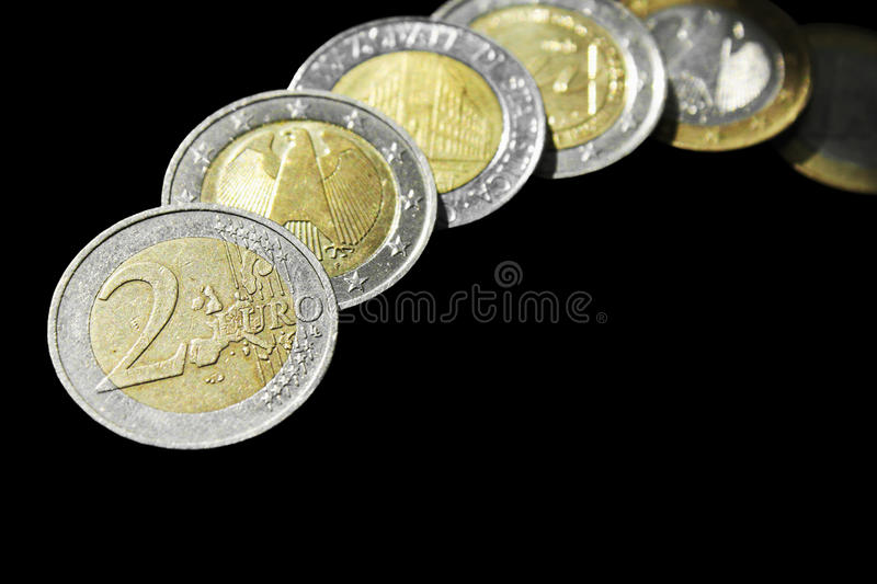 Download EU (European Union coins) stock image. Image of paying - 33626413