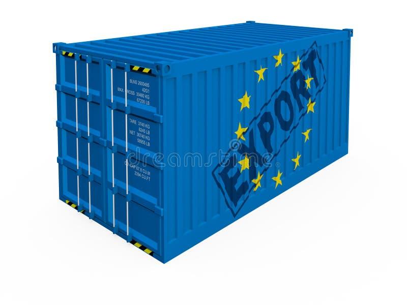 Download EU export stock illustration. Illustration of bargain - 15455712