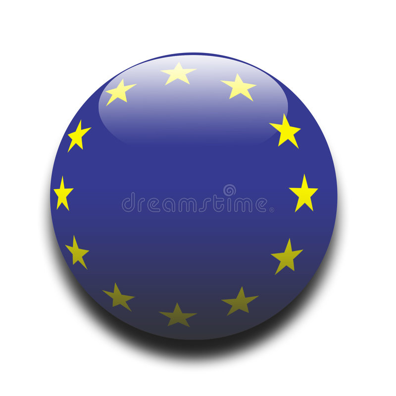 EU Flag. European Union flag - for more flags in this style please view my portfolio