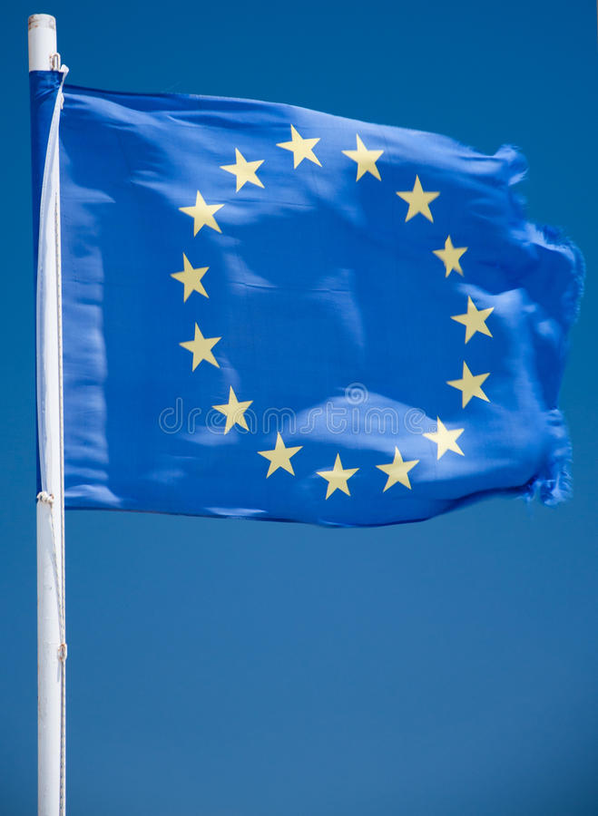 Download EU flag stock image. Image of europe, country, europa - 21280771