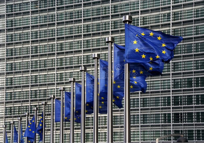 Download EU Flags Royalty Free Stock Photography - Image: 2576817