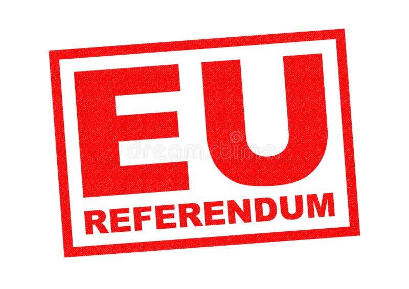 EU-folkomröstning vektor illustrationer