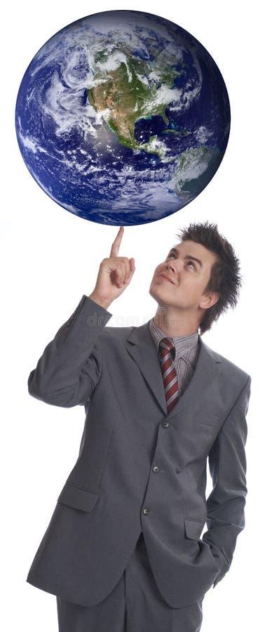 Eu governo o mundo 1 fotos de stock royalty free