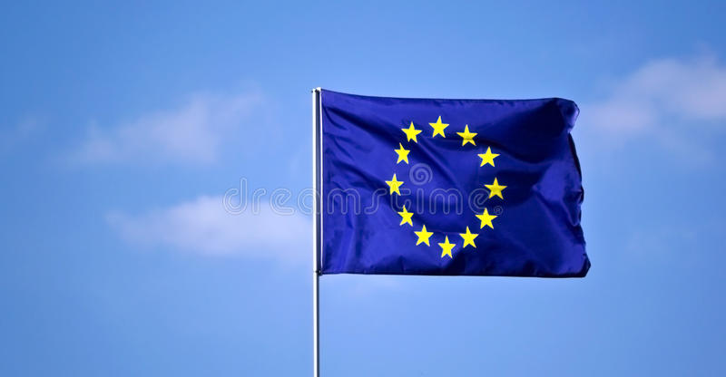 EU kennzeichnen stockfoto