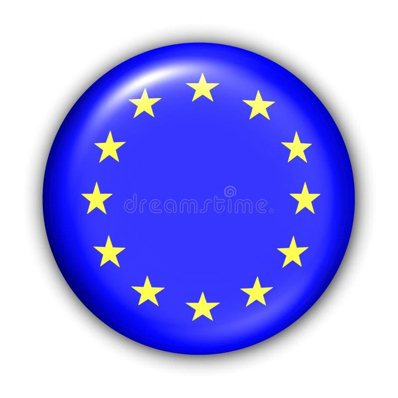 EU-Markierungsfahne vektor abbildung