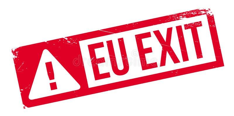 EU nehmen Stempel heraus vektor abbildung