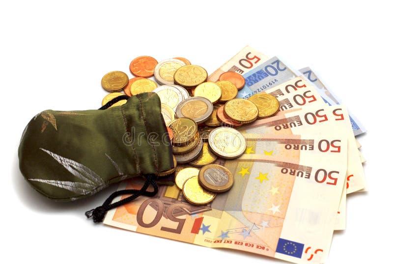 eu pieniądze zdjęcie stock