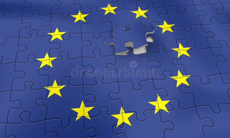Download EU puzzle stock illustration. Image of europe, nation, european - 339588