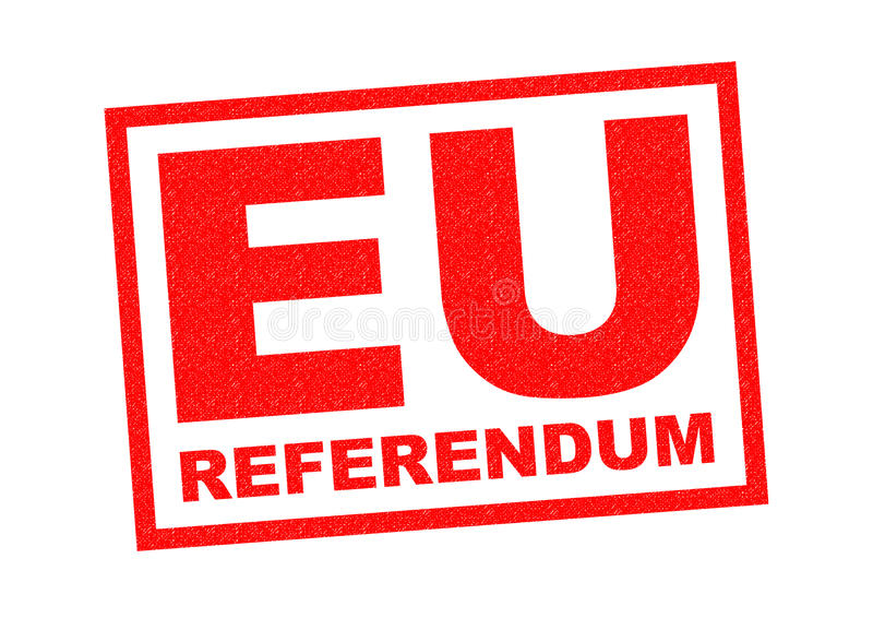 EU REFERENDUM vector illustration