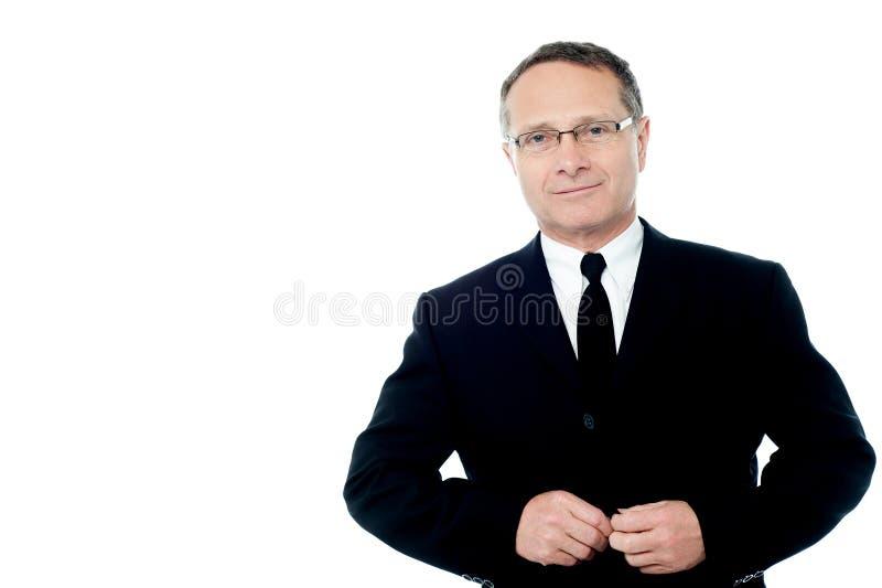 Eu sou um homem de negócios do prefeito! fotografia de stock