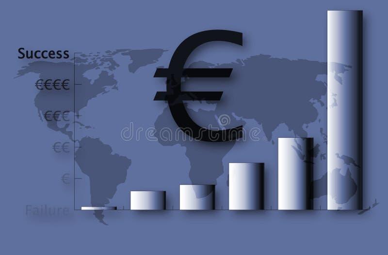 Download Eu sukces ilustracji. Ilustracja złożonej z globalny, gospodarka - 130667