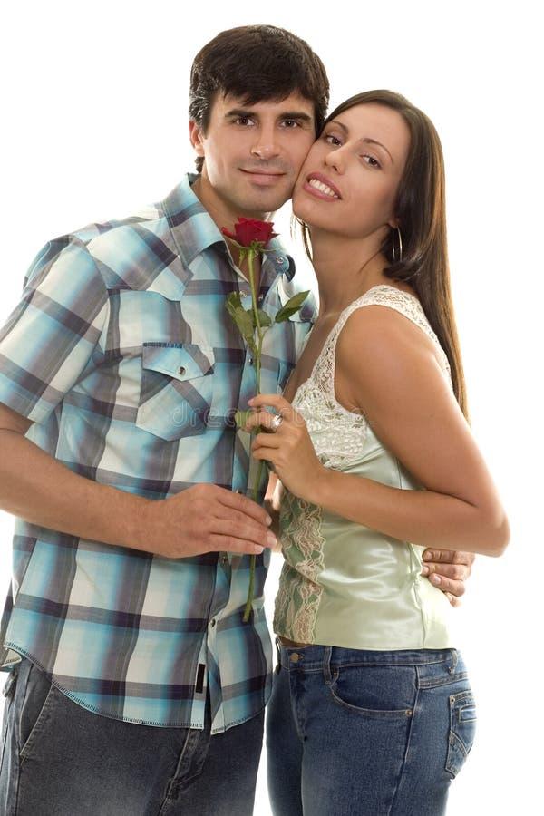 Eu te amo, homem, mulher no amor. imagens de stock