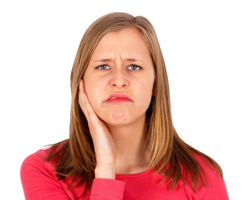 Eu tenho que ver meu dentista! fotos de stock royalty free