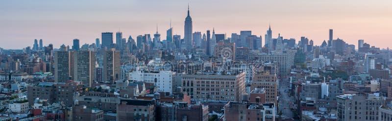 EUA, NEW YORK CITY - 28 de abril de 2012: New York City foto de stock