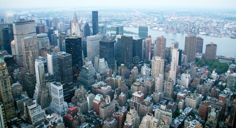 EUA, New York do Empire State Building fotografia de stock royalty free