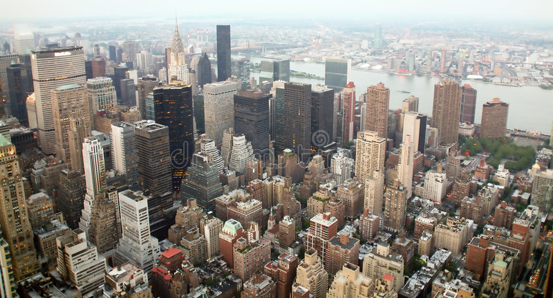 EUA, New York do Empire State Building imagens de stock