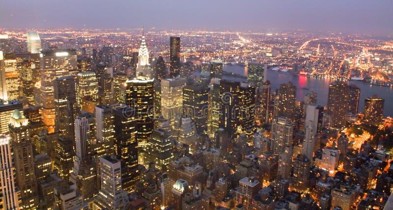 EUA, New York do Empire State Building imagem de stock
